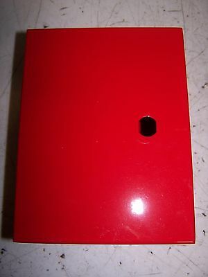 "New Electrical Enclosure 8""X6""X4"" Hinged Red Enclosure 8""Tall 6""Wide 4""Deep"