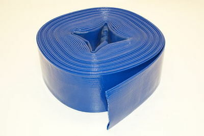 """Baron Tools Industrial Water Pump PVC Discharge Hose - 2"""" X 50 Feet"""
