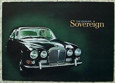DAIMLER SOVEREIGN Car Sales Brochure 1967