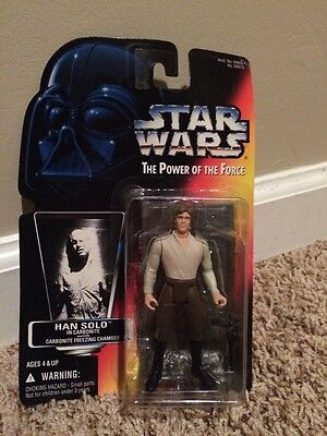 Star Wars Power of the Force Han Solo in Carbonite Block New
