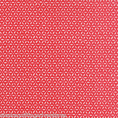 Ivory Red MODA Fabric ~ EVER AFTER ~ by Deb Strain by 1//2 yard 19748 12