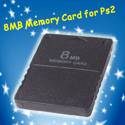 8MB 8M Memory Card Expansion for Sony Playstation 2 PS2 Slim System Game HT