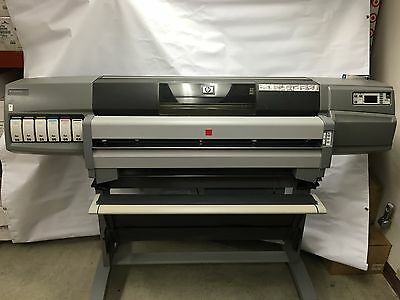 HP Designjet 5500 Large Format Printer Q1251A  With DoubleProof/Spinjet (Tested)