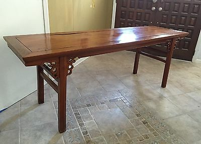 Certified Antique Chinese Altar Table Circa 1800-1849