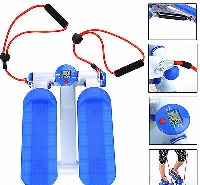 Stepper Machine With Resistance Bands Exercise Calf's Glutes Core Step Exerciser