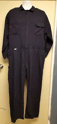 Armorex FRC Navy Work Coveralls HRC2 Med Weight Excellent Shape
