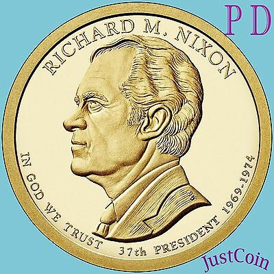 2016 P&d Set Richard Nixon #37 Presidential Dollars From Mint Rolls Uncirculated
