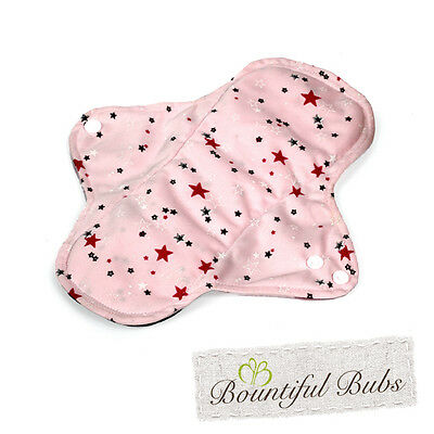 Washable Cloth Pads, 3 Sizes, Bamboo. Menstrual, Maternity and Incontinence Pads