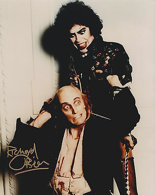 Richard O Brien HAND Signed 8x10 Photo The Rocky Horror Show Autograph Riff Ra 5