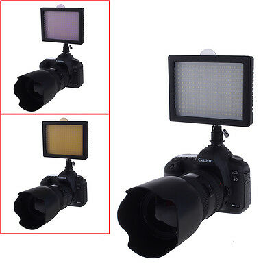 Professional 216 LED Dimmable Ultra High Power Panel Digital Camera UD#15
