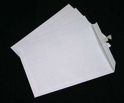 250 St Envelopes C4/A4 White Self-Adhesive Without Windows 229X324 mm