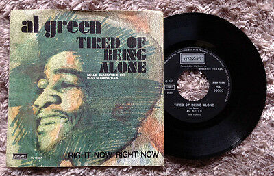 "AL GREEN / TIRED OF BEING ALONE - 7"" (Italy 1971) EX/VG++   RARE !!!"