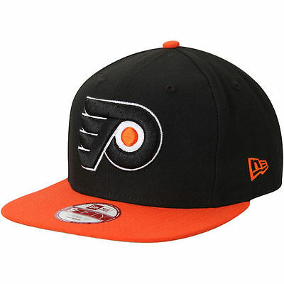 5d576ea47f1 PHILADELPHIA FLYERS Basic 2Tone New Era 950 Snapback NHL Cap Black Hat 2  Tone