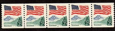 #2280 Flag over Yosemite PNC5  Pl #8 (Block Tag) - MNH