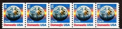 "#2279 ""E"" rate Earth PNC5  Pl #1111 - MNH"