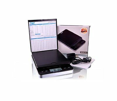 Saga Digital Postal Scale 30KG X 5G Shipping Letter Parcel Scale Weight Postage