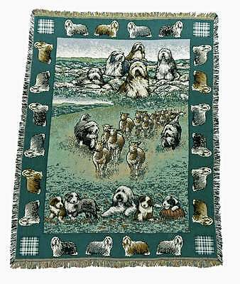 Bearded Collie Throw/blanket