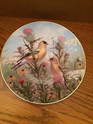 The Hamilton Collection Golden Glories Numbered Plate 1628A Marc Hanson
