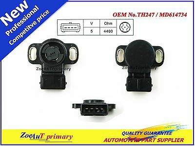 TH247 Throttle Position Sensor For MITSUBISHI 3.5L V6 2.4L 1.8L 1997-02 MD614772