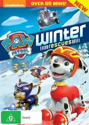 Paw Patrol: Winter Rescues DVD Region 4 New Sealed