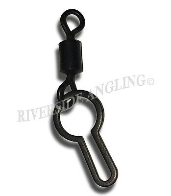 PVA BAG CLIP SWIVEL SIZE x 10 CARP FISHING MESH END TACKLE TERMINAL TACKLE