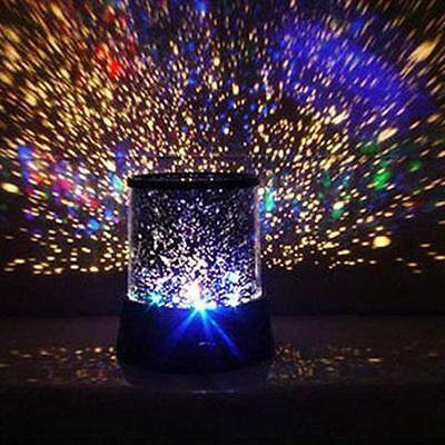 LED Cosmos Star Master Sky Starry Night Light Lamp Projector Space Solar System