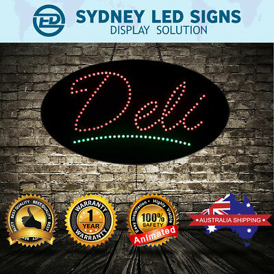 Animated LED NEON Motion Flash Open Business Sign DELI SIZE: 60CM X 30CM
