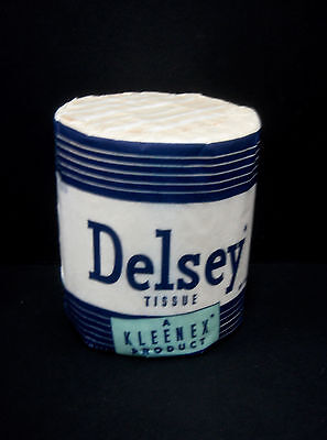 Vintage Delsey Toilet Paper Roll 1957 - New old Stock!