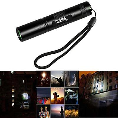 New Fire 3500 LM 3 Mode CREE XM-L T6 LED 18650 Zoomable Flashlight Focus Lamp