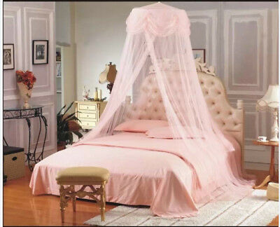 Romantic Lace Princess Mosquito Canopy Net Fly Insect Double King Bed Size