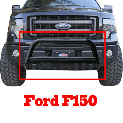 """Black FORD F-150 3"""" Bull Bar 2004-2014 Grille Guard Bumper Bar With Skid Plate"""