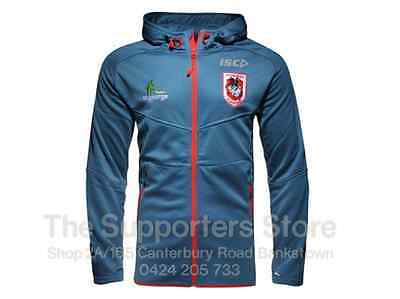 St George Illawarra Dragons NRL 2016 ISC Players Workout Hoody Sizes S-3XL!