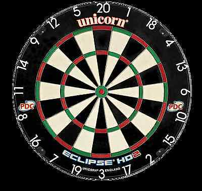 Unicorn Eclipse HD2 Dartboard - TV Edition - New for 2016