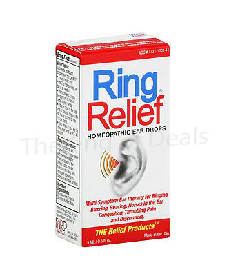 Ring Relief Homeopathic Ear Drops, 0.5 oz - Exp 05/17