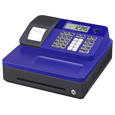 Casio SE-G1SC-RD Electronic Cash Register Thermal Print, Blue