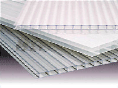 Polycarbonate Sheets Standard Rectangles 10mm Width 2100mm Length 3000mmClear