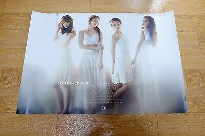 Kara - Day&Night (6th Mini Album)  *Official POSTER* KPOP