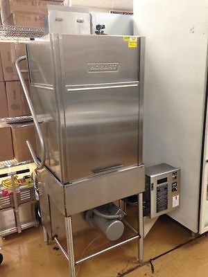 Hobart AM14T Commercial Upright Pass Though Door Type Dishwasher ML #110973