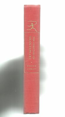The Comedies of Shakespeare, vol 1, Modern Library #4 hardback 1963.