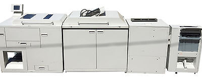 Horizon ColorWorks CW-8000 CW-FU80 Booklet Maker Document Finisher Xerox Printer