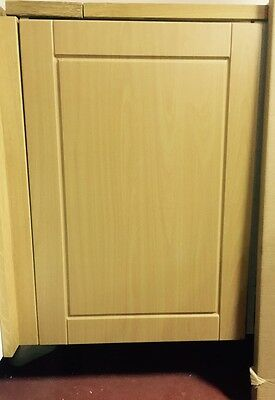 Beech Effect Shaker Fitted kitchen unit cupboard cabinet door and drawer fronts