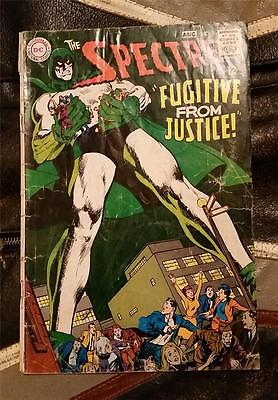 THE SPECTRE! No.5 * SILVER AGE * AUG 1968 12c * FUGITIVE FROM JUSTICE