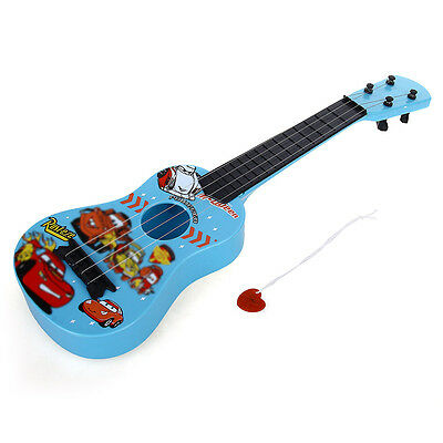 Mini Guitar 4 String Musical Educational for Child Gift Blue