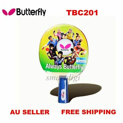 Butterfly TBC201 Short Handle Table Tennis Racket Paddle Bat Blade Penhold