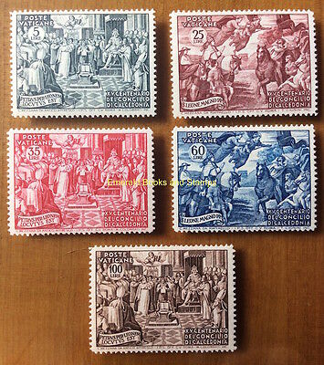 EBS Vatican City Città del Vaticano 1951 Council of Chalcedon 149-153 MNH**