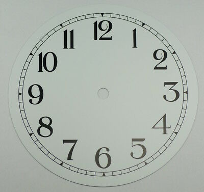 NEW clock dial 7 inches 177mm aluminium Roman numerals  dials parts clocks