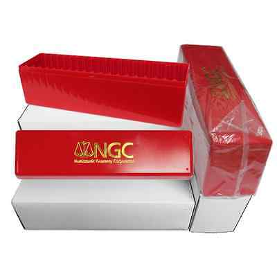 NGC Red Storage Box for 20 Individual Certified Coins (Brand New)