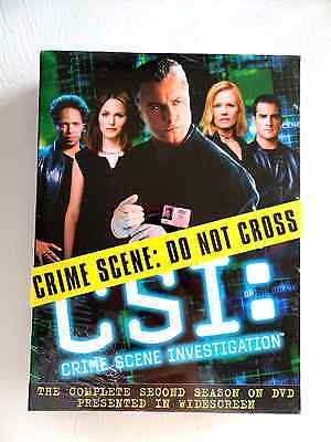 CSI The complete Second Season on DVD.Widescreen, brand new, sealed!