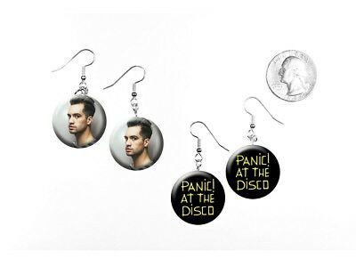 Panic! At The Disco Death of a Bachelor Brendon Urie 2 Pairs of Charm Earrings