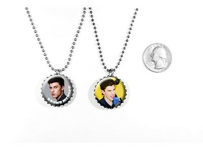 Shawn Mendes Teen Canadian Singer 'Stitches' 2 Sided Necklace